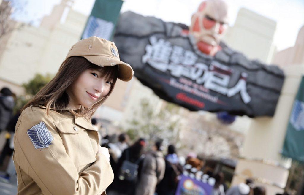 USJクールジャパン2020花奈澪レポ進撃の巨人XRライド