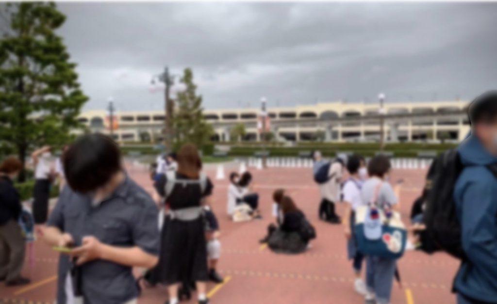 再開した東京ディズニーランド