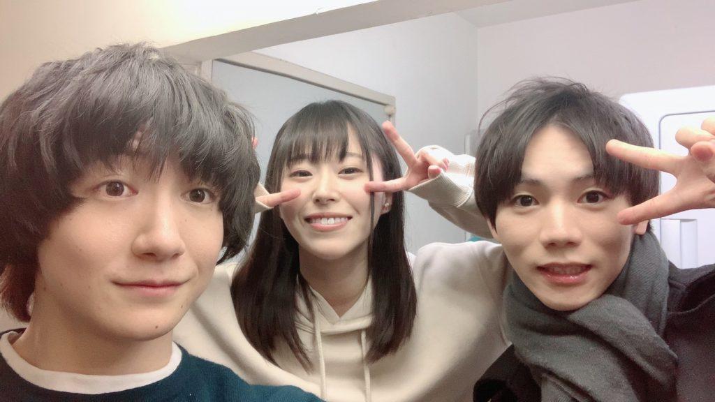 吉田翔吾さん、花奈澪、阿瀬川健太さん